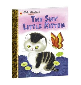 Hardcover - Shy Little Kitten