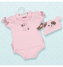The Bearington Collection WIGGLES ONESIE & HAT (6-12)