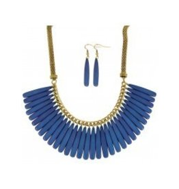 FAN OUT AND ABOUT 18' NECKLACE SET