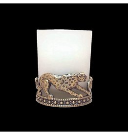 ALL FOR GIVING CHEETAH VOTIVE CANDLE