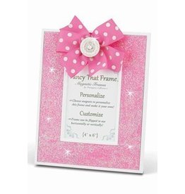 FANCY THAT FRAME Pink Glitter Frame