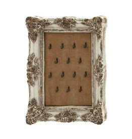 UMA ENTERPRISES INC. BURLAP JEWELRY HOLDER