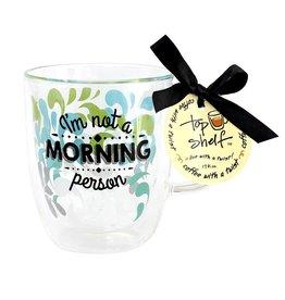 Top Shelf Mug - MORNING PERSON