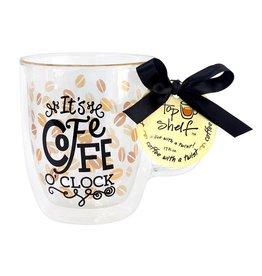 Top Shelf Mug - COFFEE O'CLOCK