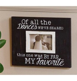 Mud Pie OF ALL THE DANCES Frame