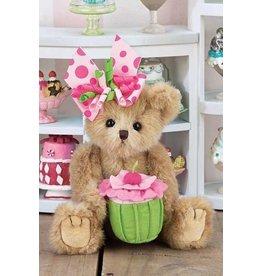 The Bearington Collection Casey Cupcake Plush