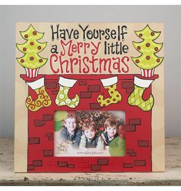 Merry Little Christmas Fireplace