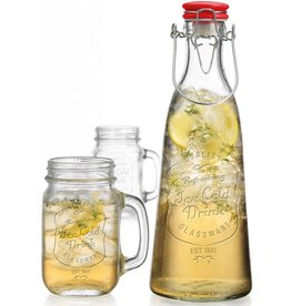 Home Essentials Ice Cold 3PC Bottle/2 Jar Set