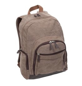 OCCASIONALLY MADE Men's Backpack- Brown