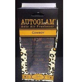 Tyler Candle Company Autoglam Auto Freshener Cowboy