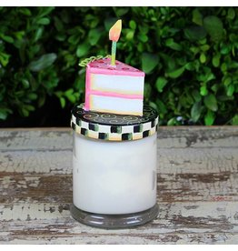 Round Top Collection Birthday Cake Candle