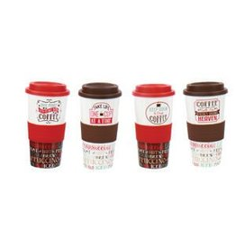 DENNIS EAST INTERNATIONAL INC COFFEE Phrase Tumbler (10 oz)