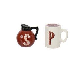 DENNIS EAST INTERNATIONAL INC Coffeepot Salt & Pepper Set