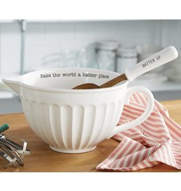 Mud Pie CIRCA MIXING BOWL SET