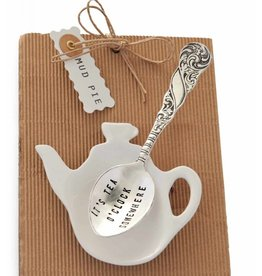Mud Pie TEABAG SPOON ITS TEA