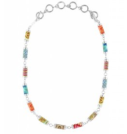 jilzarah South Beach Tube Necklace (silver)