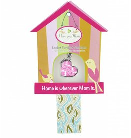 jilzarah Mother's Day Pink Canary Necklace