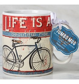 Certified International Corp Life is a beautiful ride jumbo mug
