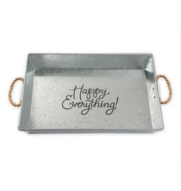 BROWNLOW GIFT HAPPY EVERYTHING Large Tray