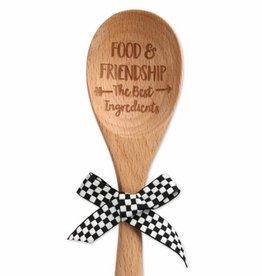 BROWNLOW GIFT Food & Friendship Wood Spoon