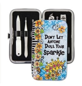 BROWNLOW GIFT Sparkle Manicure Set