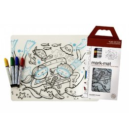 Mark Mat: Treasure Chest + 4 Markers