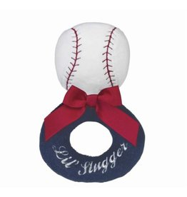 The Bearington Collection LIL' SLUGGER Ring Rattle