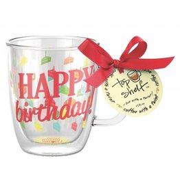 Top Shelf Mug- Happy birthday