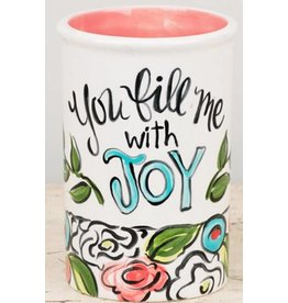 You fill me with joy vase