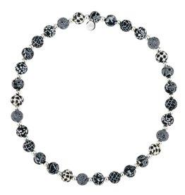 JILZARA Black White necklace