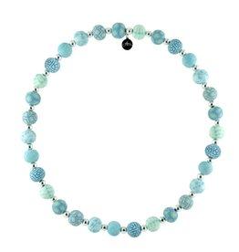 JILZARA Cerulean Blue necklace