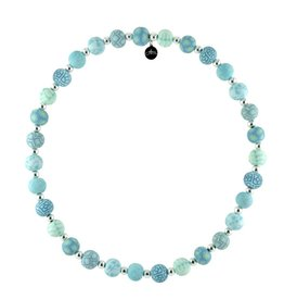 jilzarah JILZARA Cerulean Blue necklace
