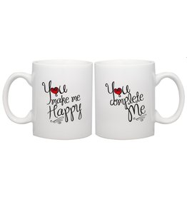 Home Essentials Happy & Complete Mug Set