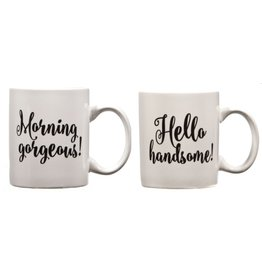Home Essentials Handsome & Gorgeous Mug Set