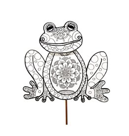 Round Top Collection Color My Spring Frog