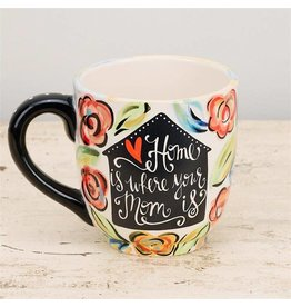 Home Is Where Your Mom Is Mug