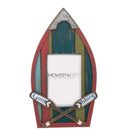 MIDWEST CBK GONE FISHING Wooden Frame