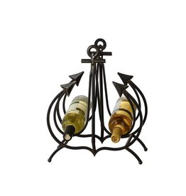 UMA ENTERPRISES INC. Metal Anchor Wine Holder