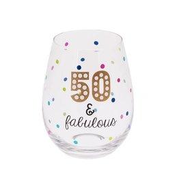 MIDWEST CBK 20oz Stemless Wine glass - 50s