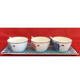 Certified International Corp San Marino 4-pc Serving Set