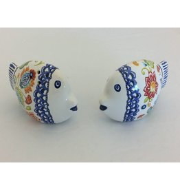 Certified International Corp San Marino Fish Salt & Pepper Set