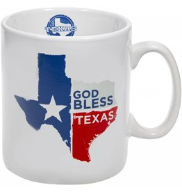 Home Essentials Coffee Mug - God Bless Texas 30 oz.