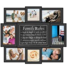 Malden 8-Op Family Rules Frame