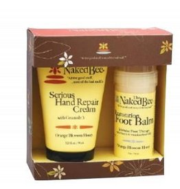 Naked Bee Orange Blossom Hand & Feet gift set