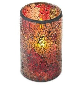 MelRose LED Mosaic Candle