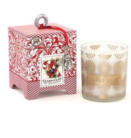 MICHEL DESIGN WORKS CANDY CANE Small Soy Candle