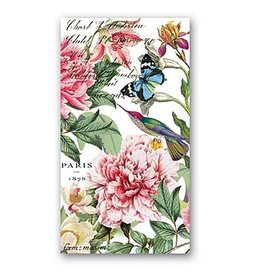 MICHEL DESIGN WORKS PEONY Hostess Napkins