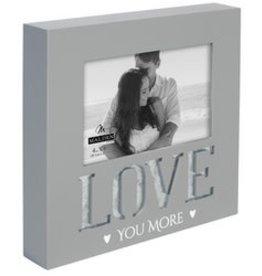 Malden 4X6 LOVE YOU MORE GALVANIZ -MLD