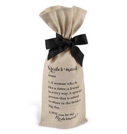 Mud Pie Bridesmaids Ask Bottle Bag