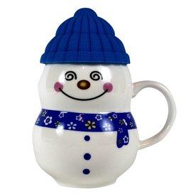MIDWEST CBK 11 oz Snowman Mug Blue - MCBK